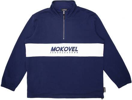 Mokovel Scoot Culture Zipper Sweatshirt (Bleu)