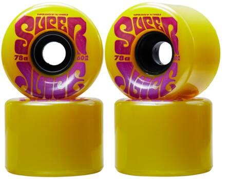 OJ's Roues Skate OJ's Super Juice 78A Pack de 4 (60mm - Jaune)