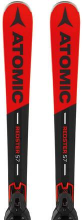 Atomic Redster S7 18/19 skis + FT 12 GW Fixations (Rouge)