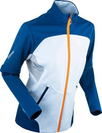 Bjørn Dæhlie Supreme Wool Femmes Cross Country Ski Veste (Cashmere Blue)