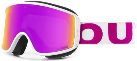 Out Of Shift Masque de ski (Blanc/Rose/Violet)