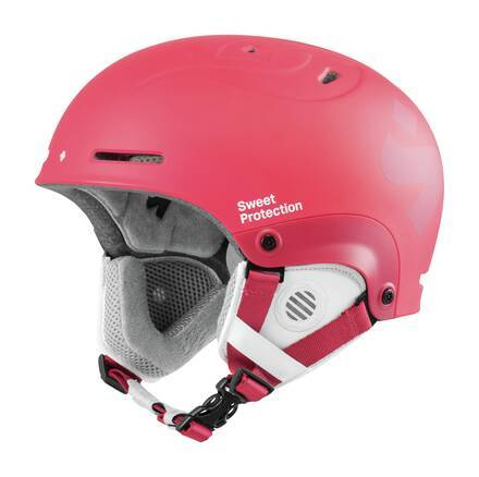 Sweet Casque Ski Enfant Sweet Blaster II (Matte Ruby Red)