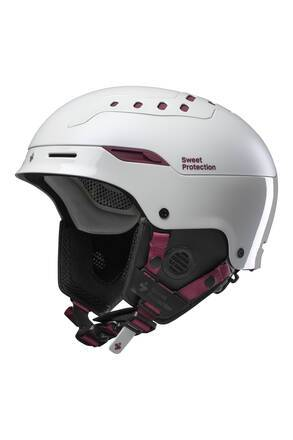 Sweet Casque Ski Sweet Switcher Femmes (Pearl Grey Metallic)
