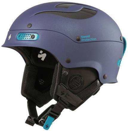 Sweet Casque Sweet Trooper II Femmes de ski (Satin Midnight Blue Metallic)