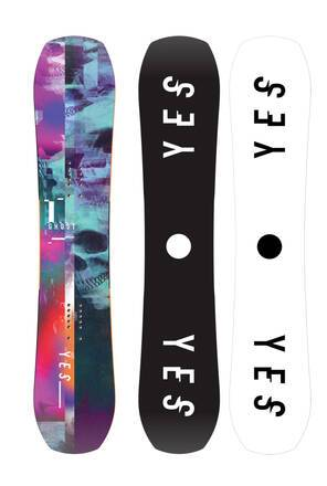 Yes Snowboards Planche Snowboard Yes Ghost 19/20 (Violet)