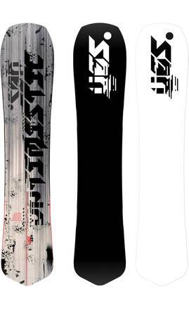 Yes Snowboards Planche Snowboard Yes Optimistic 19/20 (Noir)