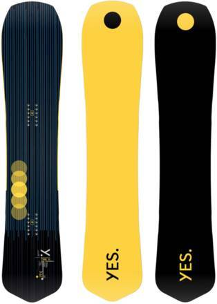 Yes Snowboards Planche Snowboard Yes The Y 20/21 (Anja Grey)