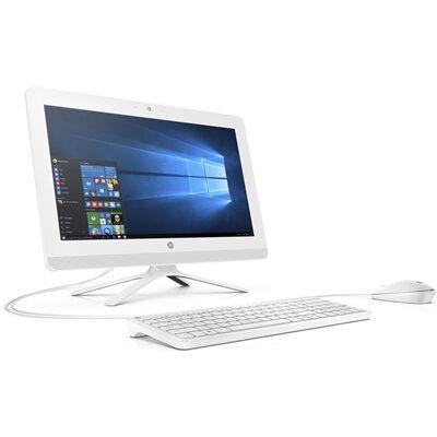 Hewlett Packard Tout-en-un HP 20-c021nf - Blanc neige Tout-en-un + Casque stéréo