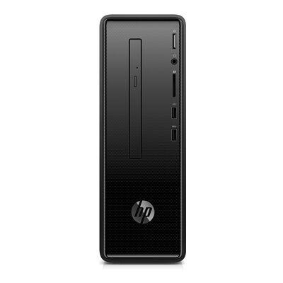 Hewlett Packard HP Slim 290-p0005nf - noir HP Desktop + écran HP 24w