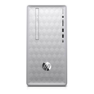 Hewlett Packard HP Pavilion 590-a0000nf avec l'écran HP 24f Full HD.