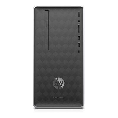 Hewlett Packard Pavilion by HP 590-a0011nf avec l'écran HP 24f Full HD.