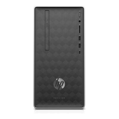 Hewlett Packard Pavilion by HP 590-a0011nf avec l'écran HP 24f Full HD.