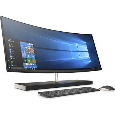 Hewlett Packard Tout-en-un incurvé ENVY 34-b113nf - noir cendré Tout-en-un + Casque stéréo