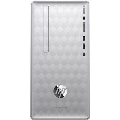 Hewlett Packard HP Pavilion 590-p0104nf avec l'écran HP 24f Full HD.