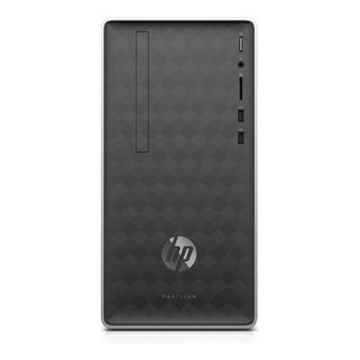Hewlett Packard HP Pavilion 590-a0001nf avec l'écran HP 24f Full HD.
