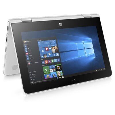 Hewlett Packard HP Notebook x360 11-ab104nf - blanc neige avec la souris sans fil HP Z3700 à moitié prix !