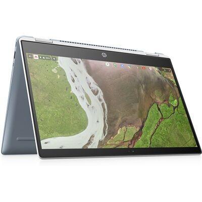 Hewlett Packard HP Chromebook x360 14-da0001nf - Blanc céramique avec la souris sans fil HP Z3700 à moitié prix !