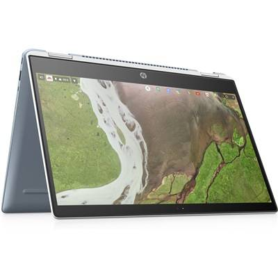 Hewlett Packard HP Chromebook x360 14-da0000nf - Blanc céramique
