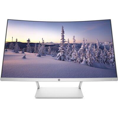 Hewlett Packard Écran incurvé HP 27 - Full HD avec la souris sans fil HP Z3700 à moitié prix !