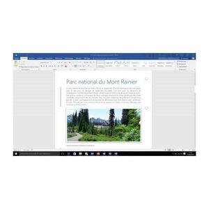 Microsoft Clé Cd Office 365 Famille Pour Pc/mac & Tablettes/smartphones - Publicité