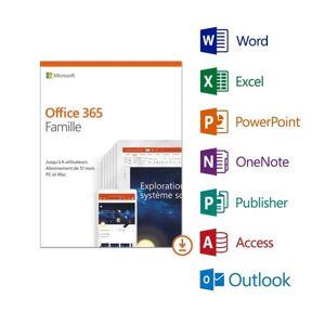 Microsoft Code D'activation Office 365 Pack Famille - Publicité