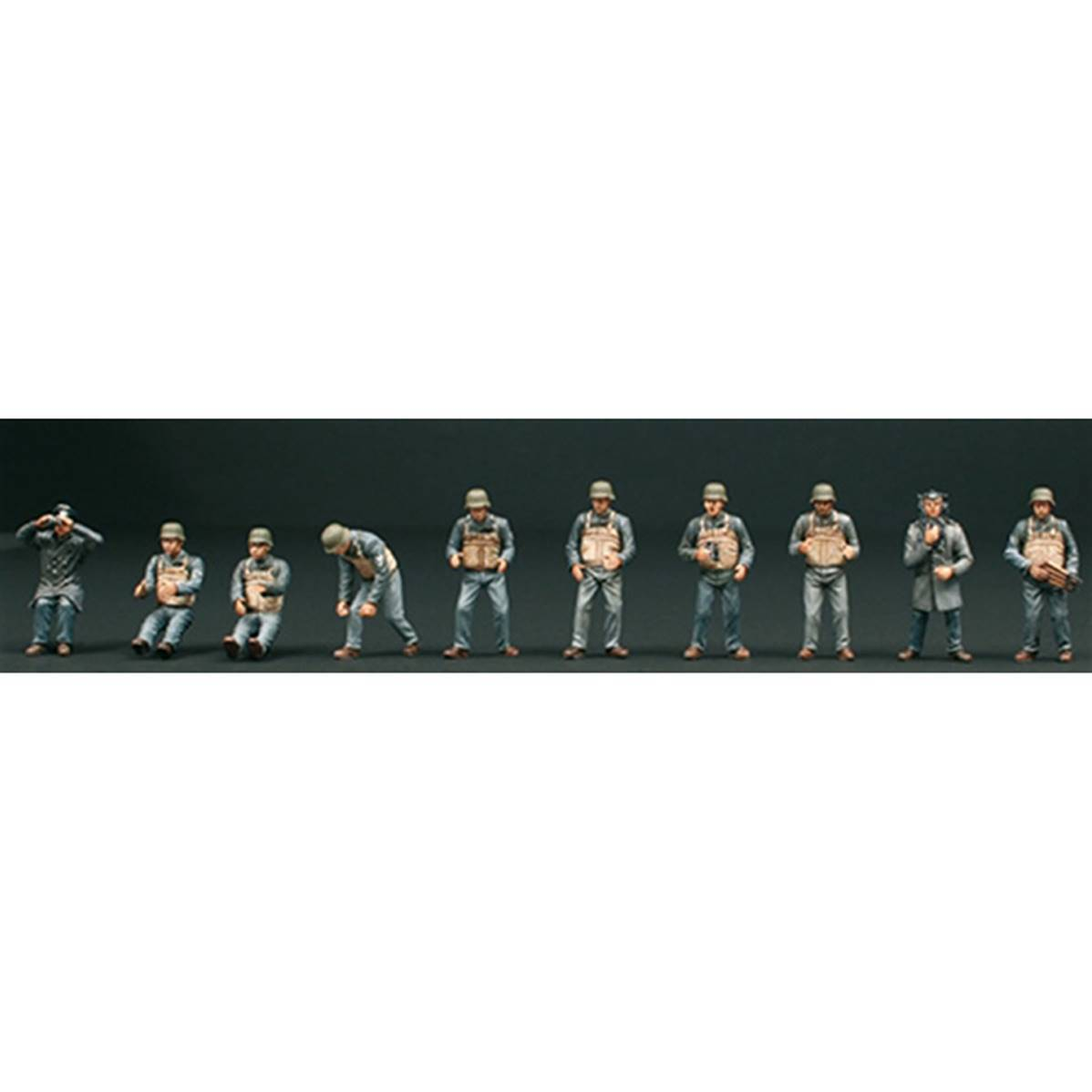 Maquette 10 personnages SchnellBoot S100 T2M