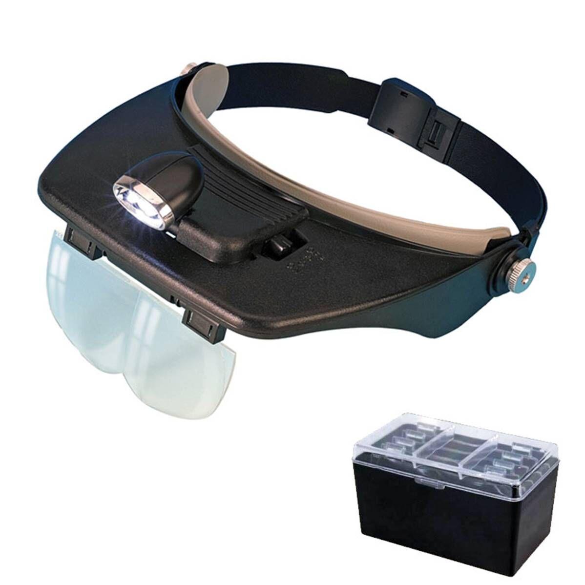 Multirex Loupe casque à LED