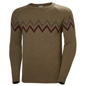 Helly Hansen Homme Wool Knit Sweater Marron M
