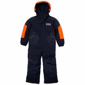 Helly Hansen Kids Snowfall 2 Insulated Suit Bleu Marine 116/6