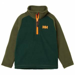 Helly Hansen Kids Daybreaker 1/2 Zip Gilete Polaire Vert 122/7