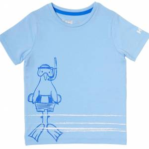 Helly Hansen Kids Graphic Quick-dry T-shirt Bleu 122/7