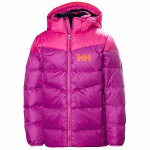 Helly Hansen Kids Junior Isfjord Down Mix Veste Parka Rose 140/10