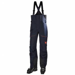 Helly Hansen Femme Kvitegga Bib Shell Pantalon De Ski Bleu Marine Xs
