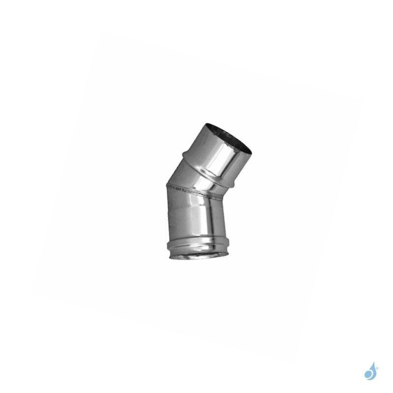 MCZ Coude 45° en acier inoxydable - Ø 150mm