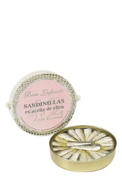 Rosa Lafuente Sardinillas à l'huile d'olive (42 pièces)
