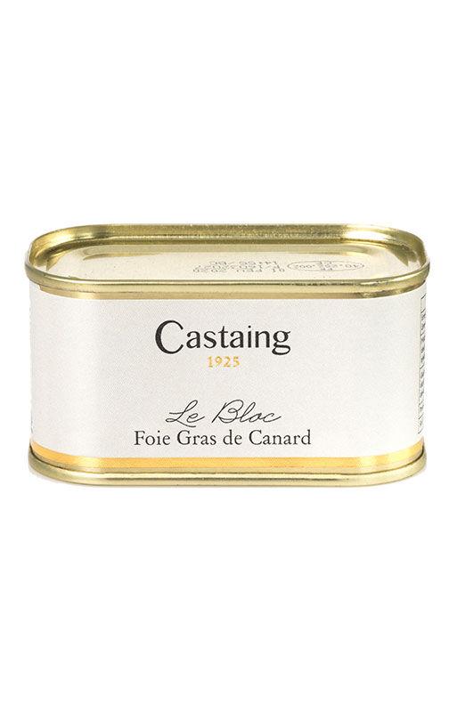 Castaing Le Bloc de foie gras de pato 130 g