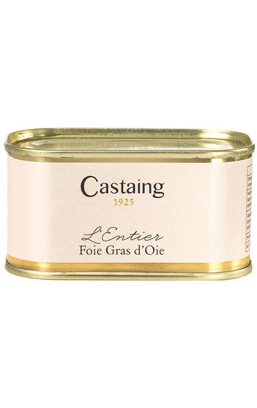 Castaing L'Entier foie gras de oca 130 g