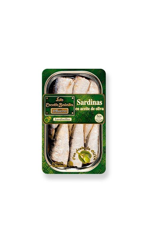 Luís Escurís Batalla Sardinillas à l'huile d'olive (16/20 pièces)