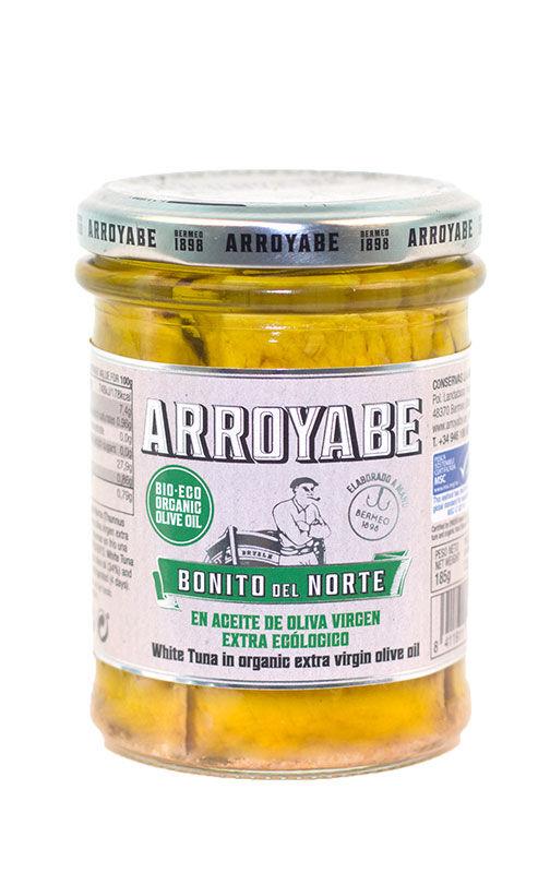 Conservas Arroyabe Thon blanc frais à l'huile d'olive vierge extra