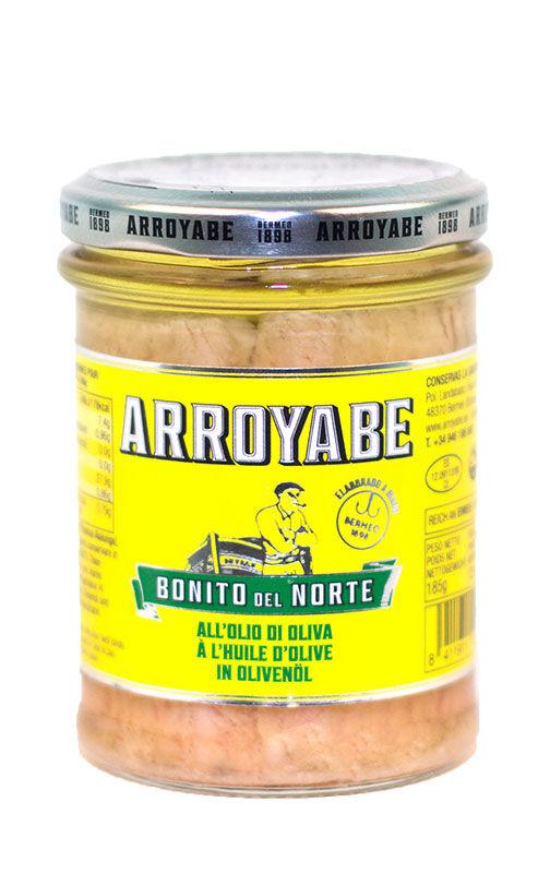 Conservas Arroyabe Thon blanc frais à l'huile d'olive
