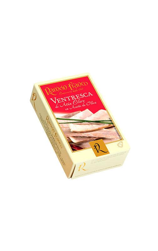 Conservas Ramón Franco Ventrèche de thon blanc à l'huile d'olive 120g
