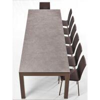 TABLE EN CÉRAMIQUE AVEC ALLONGES FANNY <br /><b>2219.4 EUR</b> Le chaisier