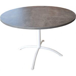 TABLES DE CUISINE LASER FIXE DIAMETRE 110 CM - Publicité