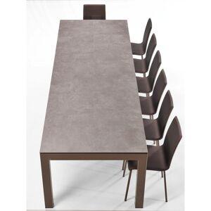 TABLE EN CERAMIQUE AVEC ALLONGES FANNY - Publicité