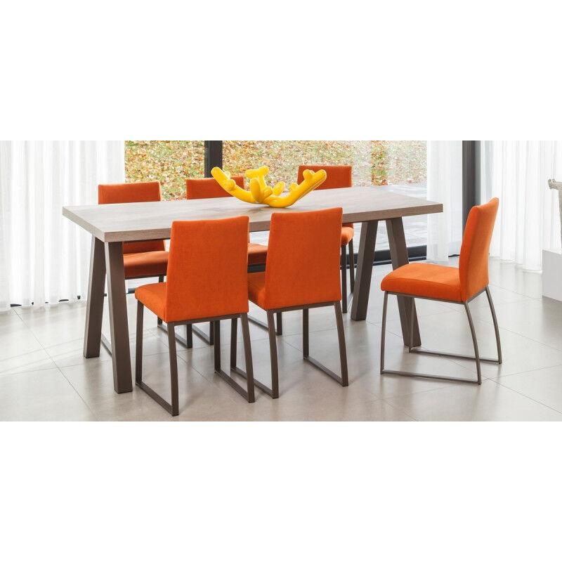 TABLE RECTANGULAIRE QUEEN HT 75 CM