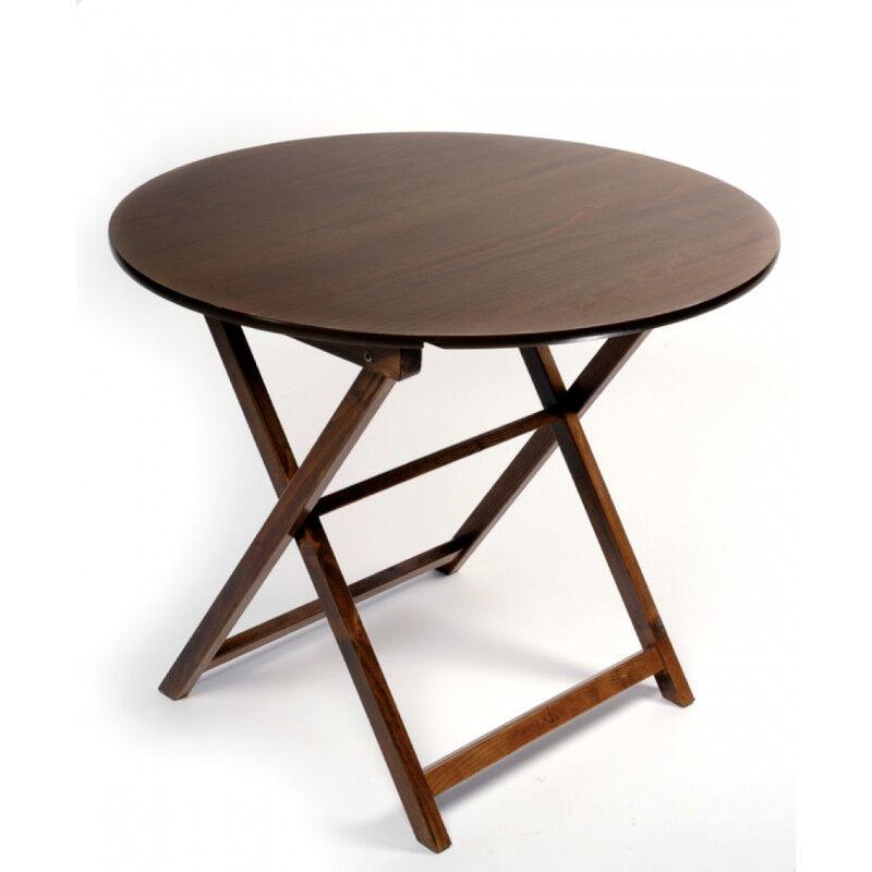 TABLE PLIANTE RONDE HT72 CM