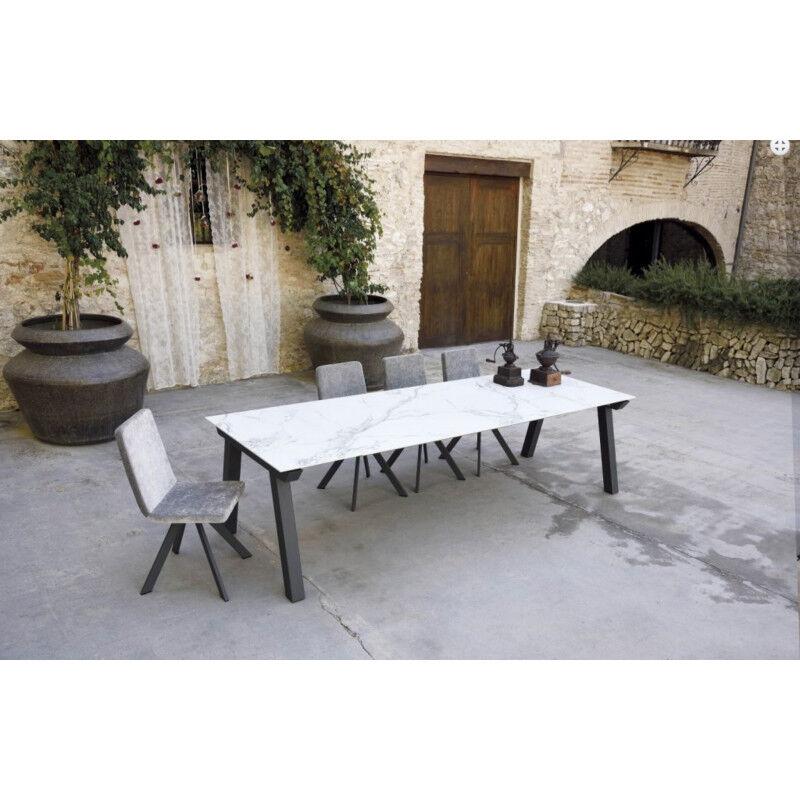 TABLE EN DEKTON SNACK NORDIC HT 90 CM