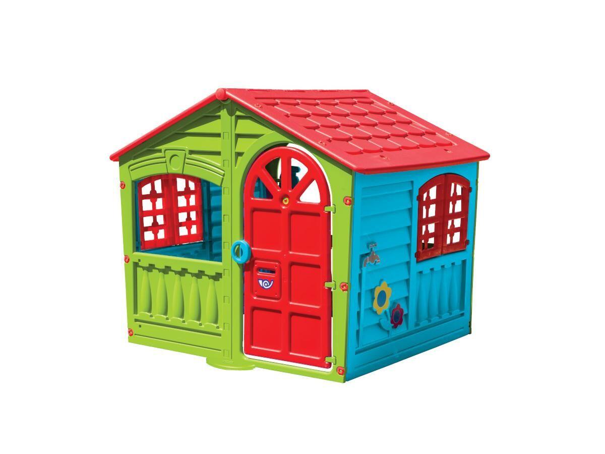 Maisonnette pour enfant JUSTINE - L140 x P111 x H115 cm