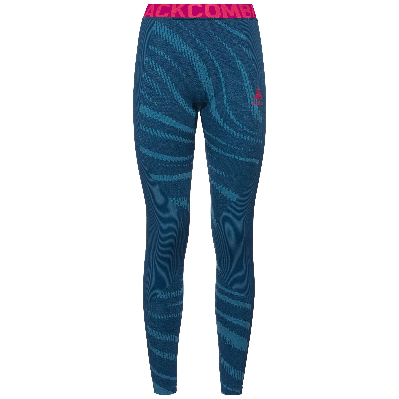 Odlo Sous-vêtement technique Collant long BLACKCOMB pour femme poseidon - turkish tile - diva pink taille: L