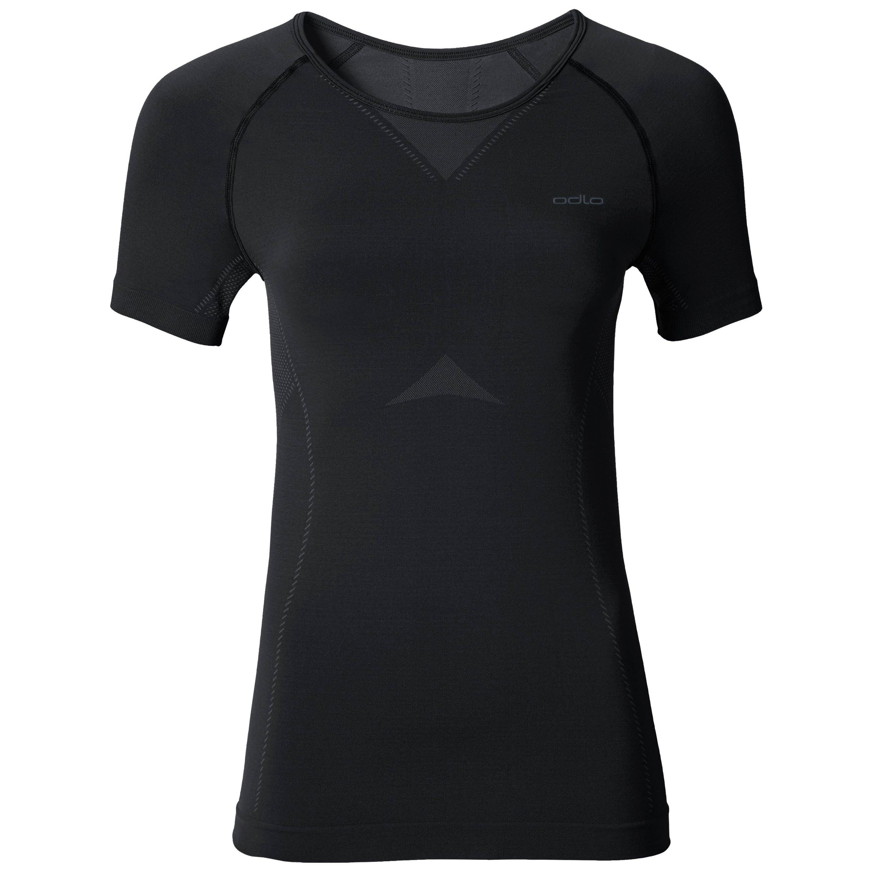 Odlo T-shirt baselayer EVOLUTION LIGHT femme black - odlo graphite grey taille: L